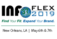 InfoFlex 2019 Logo with Dates